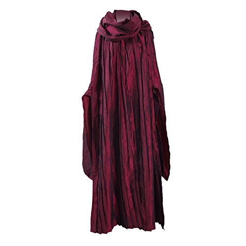 CosDaddy ® Melisandre Allerheiligen Party Kleider Cosplay Kostüme (Thrones Kostüme Frauen Game Of)