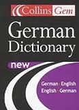 German Dictionary (Collins Gem)