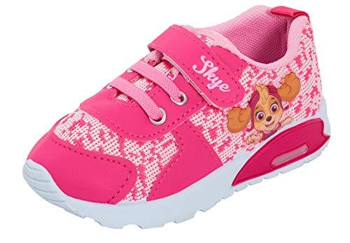 Zapatillas Deportivas para niñas de Paw Patrol, con Luces Intermitentes, para niños, Color Rosa, Talla 24.5 EU