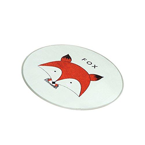 petsola Kinder Spielmatte / Teppiche Und Spielzeug Organizer Lagerung Baumwolle - Fuchs