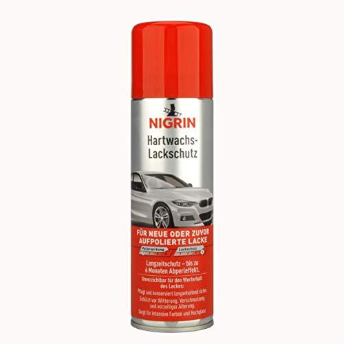 NIGRIN 20444 Hartwachs-Lackschutz Autowachs I Wachs für Auto I Lackversiegelung I 300 ml