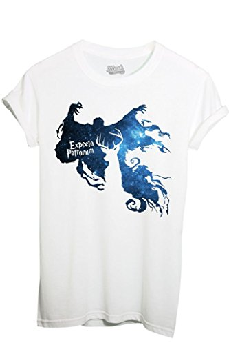 T-Shirt EXPECTO PATRONUM HARRY POTTER - FILM by iMage Dress Your Style - Donna-S-BIANCA