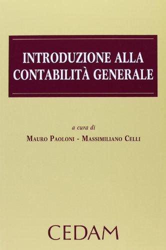 Introduzione alla contabilità generale