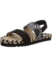 Amazon De Zapatos Vestir O esSatén Mujer Para Sandalias Lana jcR3Sq5AL4
