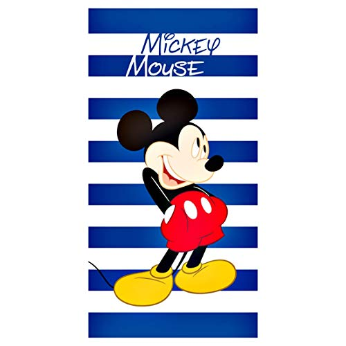 Disney Mickey Mouse Badetuch Handtuch Laken Strandlaken Badehandtuch Duschtuch Mickey-mouse-handtuch