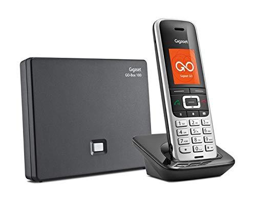 Gigaset S850A GO - Schnurloses Telefon/VoIP-Telefon - Anrufbeantworter - Bluetooth-Schnittstelle mit Rufnummernanzeige - DECT\Gap - 2 Leitungen -