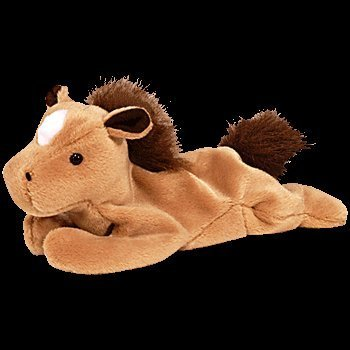 Derby the Horse - Ty Beanie Baby (Silky Fuzzy Mane) by Ty Inc