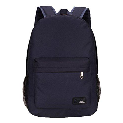 Baymate Leichtgewichtiger Rucksack für Notebook,Business und College Rucksack Schulrucksack Draussen Reisen Daypack Dunkel Blau