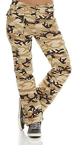 Success Pantalon Thermique pour Enfant Pantalon cargo de style Camouflage
