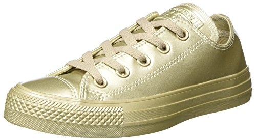 Converse Chuck Taylor All Star, Basses Mixte Adulte-Or Light Gold, 41,5 EU