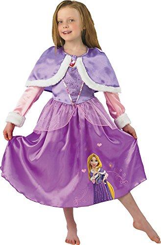 Disney Principesse Costume da Raperonzolo Winter, per Bambini (Rubie's 889546) S