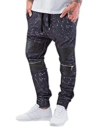 Red Bridge Herren Hosen / Jogginghose Marble schwarz XL