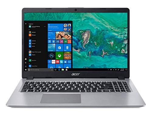 Acer Aspire 5 Slim A515-52G 15.6-inch FHD Thin and Light Notebook(Intel Core i5 8265U Whisky Lake Processor/8GB Ram/2TB HDD + 512 SSD/Win10/NVIDIA GeForce 2GB DDR5 VRAM), Sparkly Silver