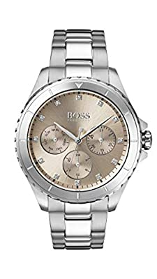 Hugo Boss Watch Womens Multi dial Quartz Watch with Stainless Steel Strap 1502444