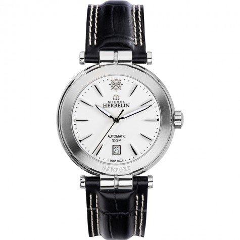 Michel Herbelin Newport Yacht Club Men's Automatic Watch blue/silver 1666/11
