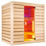 Holl's Sauna Hybride Combi 4-Sitzer