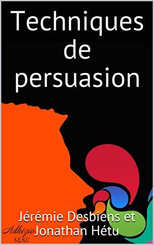 Couverture du livre Techniques de persuasion