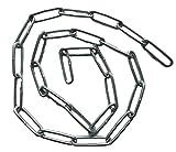 Stahlkette/Eisenkette (verzinkt) 22mm Gliedlänge / 8mm Gliedbreite – 25cm 50cm 75cm 100cm Kettenlänge zur Auswahl (25cm)