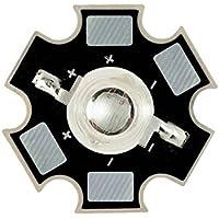 Componentes LED de alta potencia (1W, 3W, 10W) en espectro completo de longitudes de onda PAR, con PCB de 20 mm