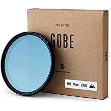 Gobe Filtro para lente NDX 77mm de densidad neutra variable