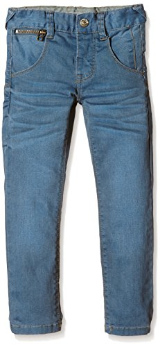 NAME IT Jungen Jeanshose nitRAS BAD K XSL/XSL DNM PANT NOOS, Gr. 134, Blau (Light Blue Denim)