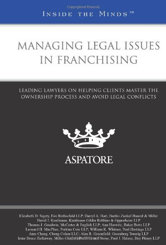 managing-legal-issues-in-franchising-leading-lawyers-on-helping-clients-master-the-ownership-process