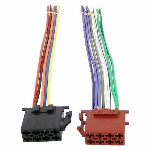 Audioproject A154 - KFZ Radio-Adapter Universal ISO Adapter-Stecker Auto-Radio - offene Enden Laustprecher-Stecker + Strom-Stecker