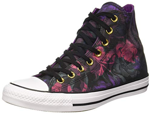 Converse Unisex Black/Pink Pop/White Sneakers - 4 UK/India (36.5 EU)(8907788082544)