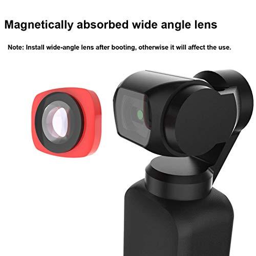 Haludock External CR Weitwinkel Objektiv Filter Zubehör Für DJI OSMO Pocket Pocket Camera