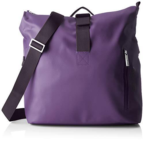 BREE Collection Unisex-Erwachsene Punch 722, Pat. Purple, Messenger S S19 Umhängetasche, Violett (Pat.Purple), 12x36x33 cm