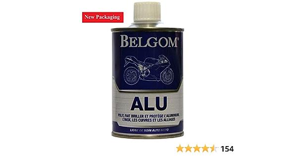 Belgom Alu Aluminium Alloy Polish For Motorcycles Cars Plus Free Polishing Cloth 250ml Bottle Auto