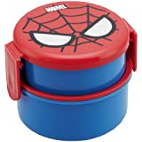 Spider-Man Round lunch box two-stage ONWR1 (japan import)