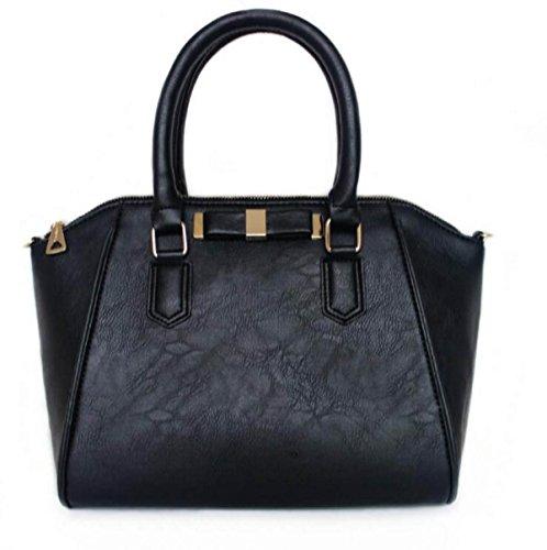Neue Art Und Weise Schulter Schräge Tasche Bowknot Handtasche Black