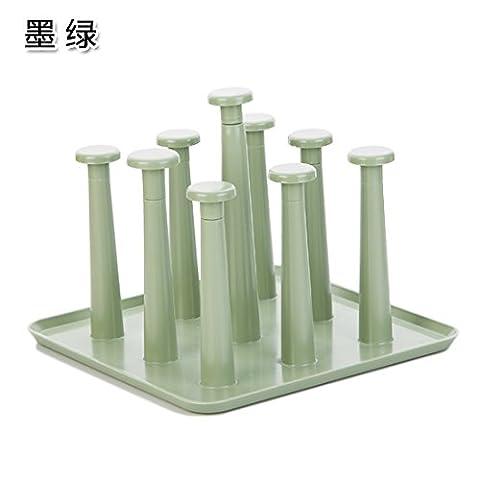 Siu Lek Yuen Kunststoff Wasser Becherhalter Becherhalter Glas Wandhalterung Becher
