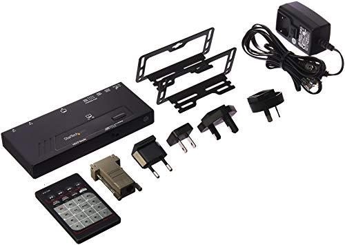 StarTech.com 2-Port HDMI automatischer Video Switch (4K 2x1 mit Fast Switching, Auto Sensing und Serial Control) -