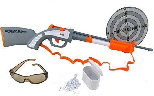 Brigamo 4785 – Papierkugel Pump Gun Spielzeug Gewehr mit 60 Schuß Munition - 2