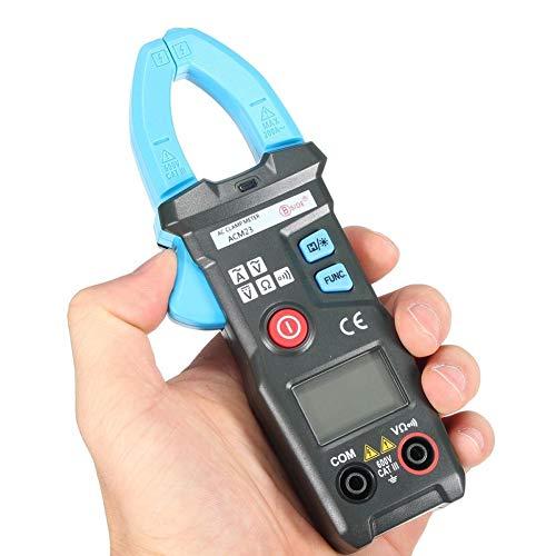 Slri Digital Multimeter, 600 V Clamp Meter Amps AC DC Strom Volt Ohm Pocket Tester - Schwarz