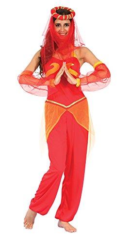 Tänzerin Harems Kostüm - Bristol Novelty ac291Harem Tänzerin Kostüm (UK 10-14)