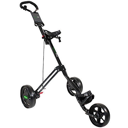 2016 GreenWay - 3 roues Mens Pousser/Tirer Hommes Golf Trolley