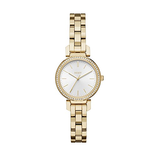 Dkny Women's Ellington NY2634 Gold Stainless-Steel Japanese Quartz Fashion Watch