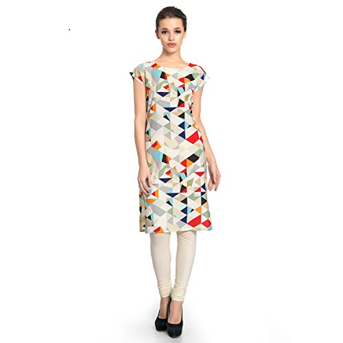 Vaamsi Women's A-Line Kurta (VPK1203_S_Multicoloured)