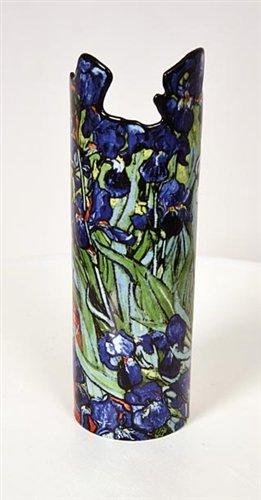 John Beswick Van Gogh Irises céramique Art Vase 26 cm Hauteur