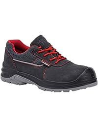 Paredes sm5061Gr46Beta–Zapatos de seguridad S1P talla 46GRIS/ROJO