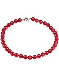 a02fc334ad7f Treasurebay FAB - Collar de piedras preciosas para mujer (46 cm