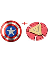 Captain America Shield & Main Spinner Iron Man jouet EDC Focus ADHD autisme