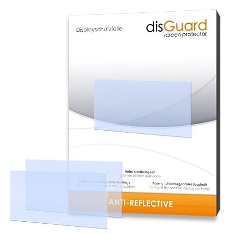disGuard RX061152 antireflektierend und hartbeschichtet Displayschutzfolie für Falk Neo 550 2nd Edition (2-er Pack)