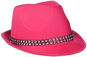 Reír Y Confeti - Fiedis061 - Disfraces de accesorios - Fun Sombrero Rose