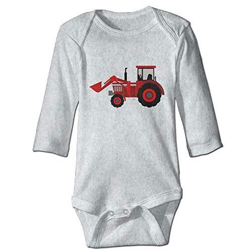 s Baby Jungen Mädchen Babybody Lange Ärmel Farmer Tractor Baby Jumpsuit Boy Girl Clothes Romper Bodysuit Onesies ()