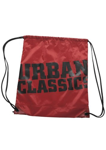 Urban Classics UC Gym Bag TB525, Farbe:red/black
