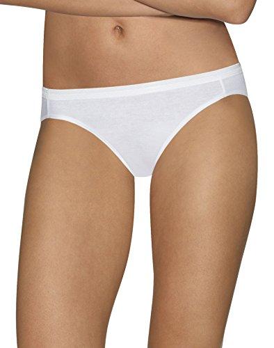 Hanes Womens Ultimate Comfort Cotton 5-Pack Bikinis